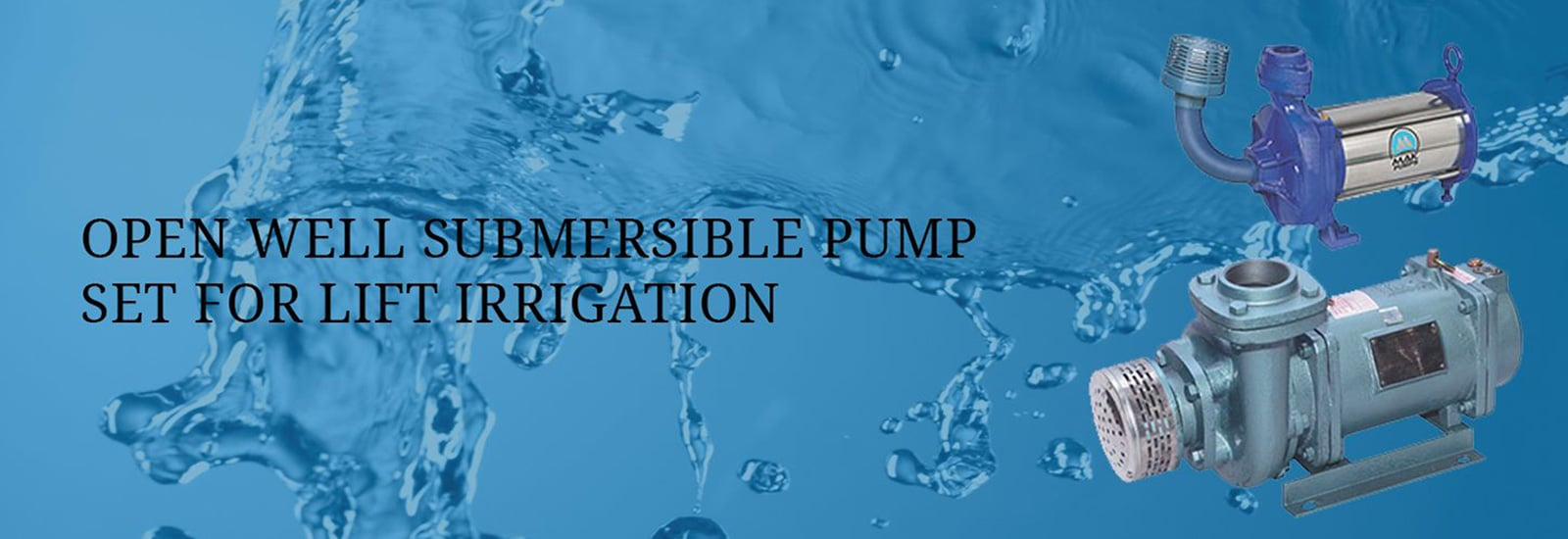 Open well Submersible Pump Sets in india